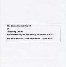 THROBBING GRISTLE - CD - THE SECOND ANNUAL REPORT OF THROBBING GRISTLE