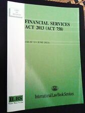 Financial Services Act 2013 (Act 758) As At 5 June 2013