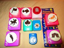 PUNCH IT MEGA PUNCH -Large Leaf baby Fish horse Scrapbooking & More Paper Punch