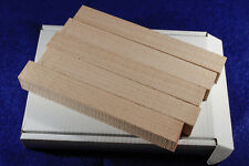 Five wood blanks for pen turning - Beech