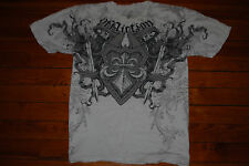 "Men's Affliction ""Grim Keepers"" Muscle Graphic T-Shirt (XX-Large)"