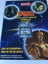 Star Wars Trilogy Edition Walkers Tazo Collectors Force Pack