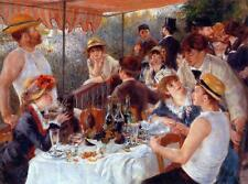 Oil Painting repro Pierre-Auguste Renoir The Luncheon of the Boating Party