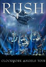 Clockwork Angels Tour - Rush 2 DVD Set Sealed New !