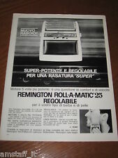AC4=1963=REMINGTON ROLL A MATIC RASOIO=PUBBLICITA'=ADVERTISING=WERBUNG=