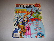 COMICS FEATURE #38, November, 1985, STAN LEE, X-FACTOR EXCLUSIVE PREVIEW!