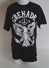 2016 NWOT GRENADE MAKE GLOVE T-SHIRT $22 L black cotton screen printed gloves