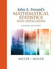 John E. Freund'S Mathematical Statistics With Applications 8th Int'l Edition