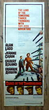 "US INSERT 14x36"", GUNS OF THE TIMBERLAND, western ALAN LADD, JEANNE CRAIN"