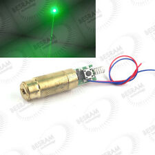 INDUSTRIAL/LAB 3VDC 532nm Green Beam Laser Lazer 100mW Diode Module