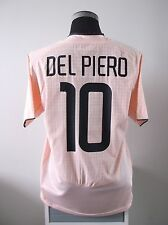 Alessandro DEL PIERO #10 Juventus Away Football Shirt Jersey 2003/04 (L)