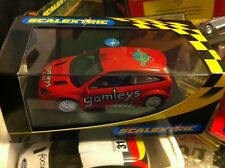 Scalextric ROSSO FORD Focus GAMLEYS 2002 L/E ref 2471a