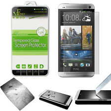 REAL TEMPERED GLASS FILM LCD SCREEN PROTECTOR FOR HTC ONE M7