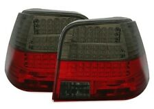 SMOKED LED REAR TAIL LIGHTS LAMPS FOR VW GOLF MK4 MK 4 IV MODEL