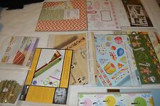 Creative Memories Mixed Lot ALL NEW Alphabets Themed  paper, stickers, mats
