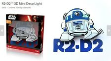 Official Star Wars R2-D2 3D FX Deco Mini Wall Home LED Night Light