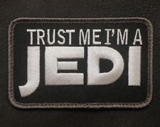 TRUST ME I'M A JEDI ARMY US MILITARY BADGE SWAT OPS VELCRO® BRAND FASTENER PATCH