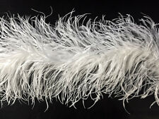 Ostrich Boa | 5 Ply Feather Boa - 2 Yards, White