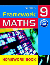 Framework Maths: Year 9: Support Homework Book by David Capewell, etc....
