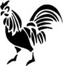 Rooster Country Kitchen Wall Decor Vinyl Decal, Sticker