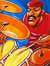 ROY HAYNES PRINT poster jazz drums roy-alty cd life in time blues abstract truth