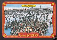 CONEY ISLAND Theme Park MODERN POSTCARD The Beach Swimmers 1920s Vintage Photo