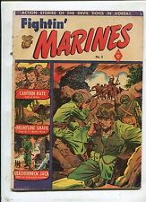 Fightin Marines #3 ~ Canteen Kate, Frontline Snafu, Leather Jack ~ (Grade 3.0)WH