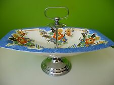 Vintage Art Deco Style Cake Stand Sandwich Tray Retro Serving Dining Tea Party