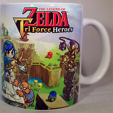 ZELDA TRI FORCE HEROES - Coffee MUG CUP - 3DS- Link