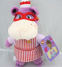 "EUC Disney Store Jr Doc McStuffins Hallie Hippo Doll 8"" Plush Toy New Year"
