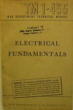 War Department Techinical Manual TM 1-455, Electrical Fundamentals, 1944