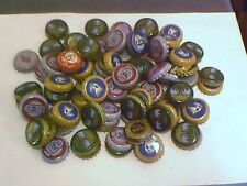 100 + MIXED various brewery's  Beer bottle tops / lids / crowns From  Thailand