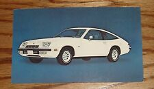 Original 1975 Chevrolet Monza 2+2 Post Card 75 Chevy