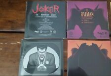 "Batman The Animated Series 7"" Vinyl Man Bat Joker SET Mondo SOLD OUT DC"