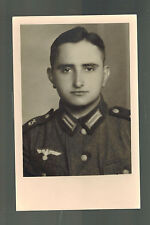 Mint WW2 Germany Army Wehrmacht Solder Portrait Real Picture Postcard