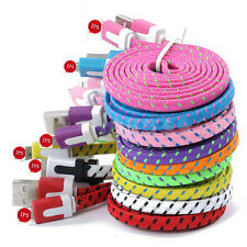 Braided Lighting Sync Data Cable USB Charger for iPhone 6 5 5S 5C 6 Plus #