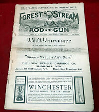 Forest and Stream/Rod and Gun Magazine, 1885-1905 Original