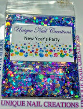 Limited Edition Glitter Mix~NEW YEARS PARTY* Comes With Alloy~ Nail Art