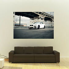 BMW E92 M3 on 360 Forged wheels Giant HD Poster Huge 54x36 Inch Print 137x91 cm