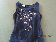 BLACK GOWN Size S, from Europe by In Wear~Elegant~Embellished  EUC