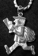 LOOK Mail Letter Post Office Postal Worker charm Real silver
