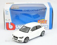AUDI A1 1:43 Car NEW Model Diecast Models Cars Die Cast Metal Miniature White