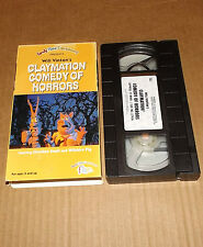 Will Vinton's Claymation Comedy of Horrors (VHS, 1994)