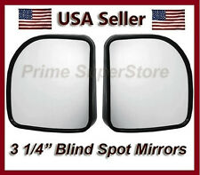 "3"" AUXILIARY BLIND SPOT WIDE VIEW MIRROR X SMALL SIDE REARVIEW RV VAN & TRUCK 2"