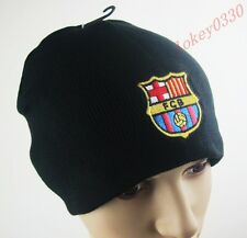 new 2016 For barcelona soccer football fans hat Warm Winter Knit Ski Beanie cap