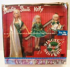 Vintage Barbie, Kelly & Stacie Singing Holiday Sisters Doll set