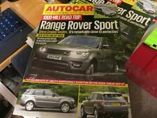 RANGE Rover-Sport 2013-AUTOCAR Prova su strada speciale RISTAMPA ufficiale