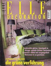 ELLE DECORATION September / October 2004 German Language Edition (Elle Decor)