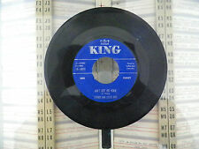 LUTHER AND LITTLE EVA- LOVE IS STRANGE- AINT GOT NO HOME- 45RPM- RECORD VG+