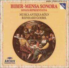, Biber: Mensa Sonora / Sonata Representativa, Excellent